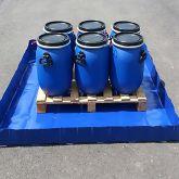BRSO 405SMB - Bac de rétention de 400 L souple pliable amovible pour stockage de fûts