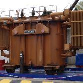 BRSO 12600 SMH - Bac de rétention souple pliable de 12600 L pour transformateur. Bac avec équerres amovible. Stockage permanent ou occasionnel