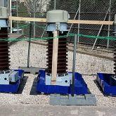 BRSO 250 - Fabrication sur mesure de 3 bacs souples pliables amovibles de 250 L de rétention chacun