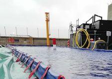 Bacs de rétention souples de grands volumes (jusqu'à 32000 litres)